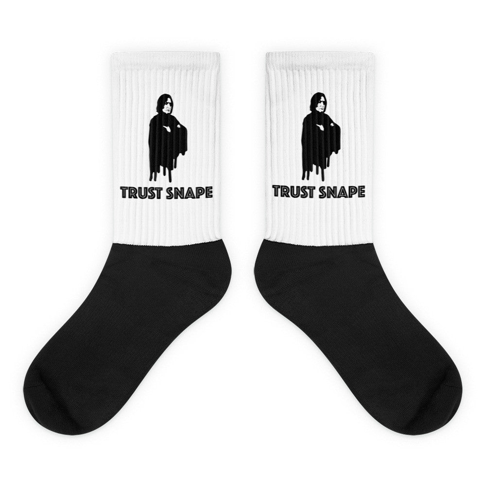 «Trust Snape» black foot socks