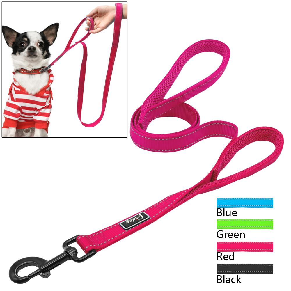 Reflective Dual-Handle Dog Leash