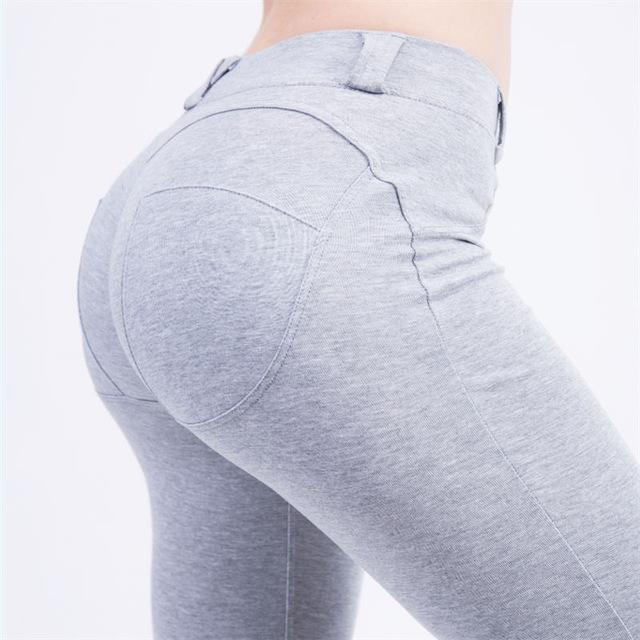 Push Up & Low Waist Casual Leggings