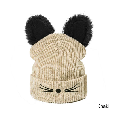 Cat Ear Knit Beanie
