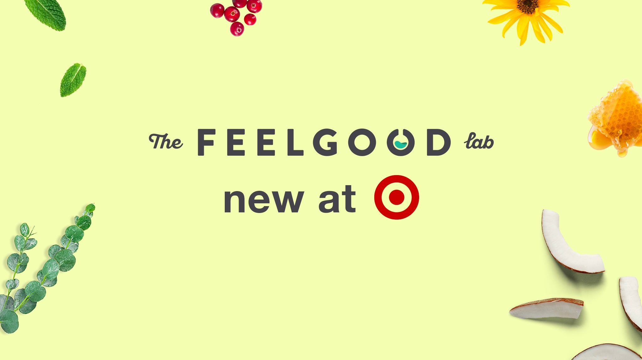The Feel Good Lab is new at Target