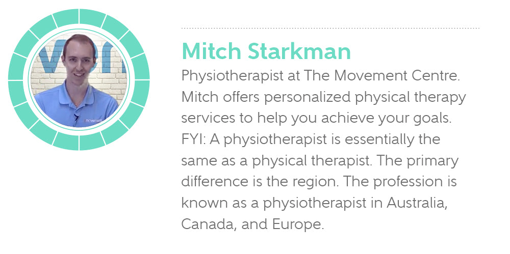 Mitch Starkman, Physiotherapist at The Movement Centre