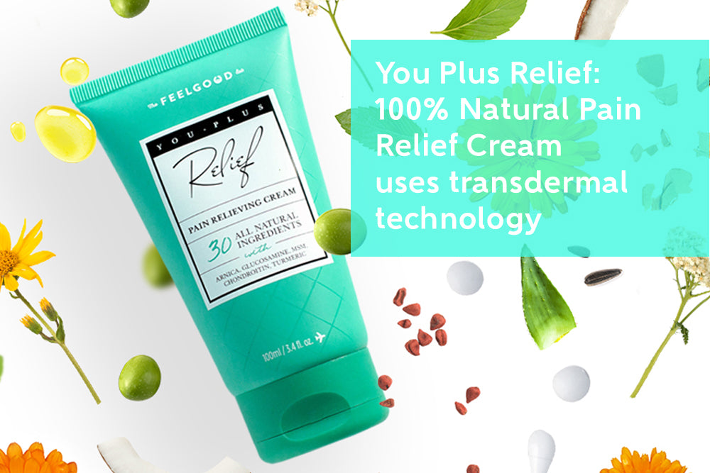 You Plus 100% Natural Transdermal Cream For Fast Pain Relief