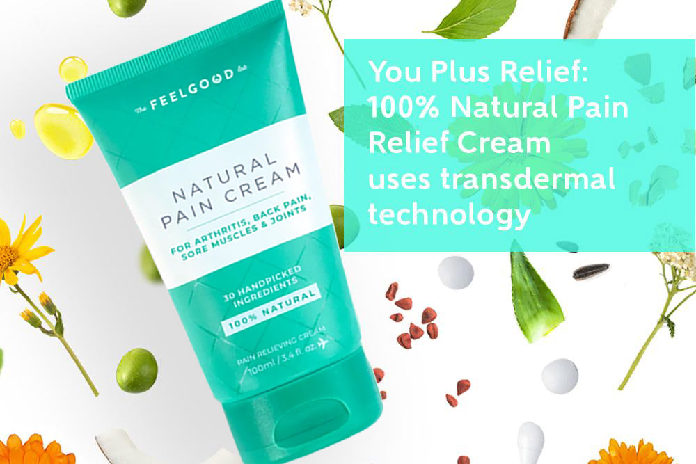 100% Natural Transdermal Cream For Fast Pain Relief