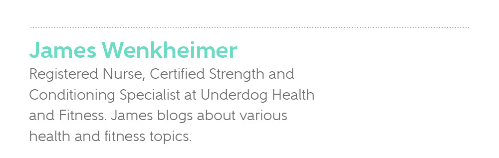 James Wenkheimer, Certified Strength and Conditioning Specialist at Underdog Health and Fitness