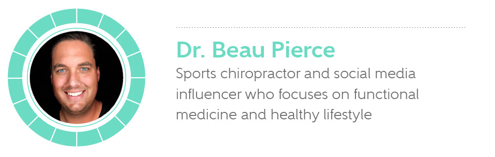 Dr. Beau Pierce is a sports chiropractor and social media influencer
