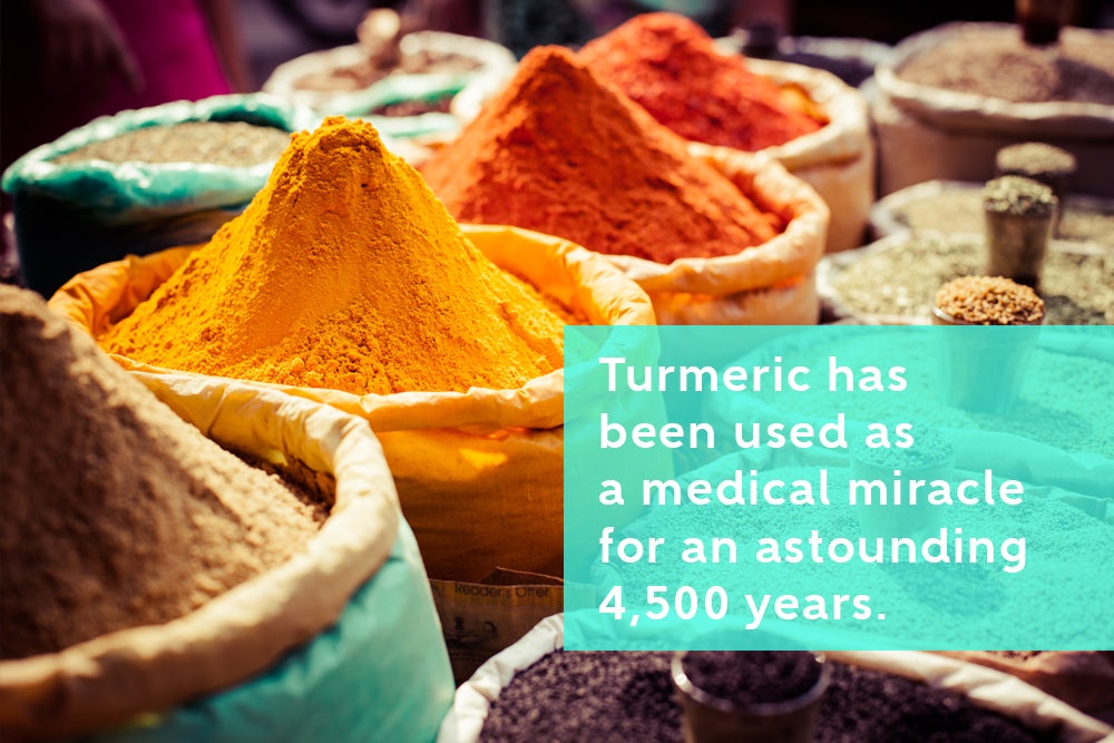 Turmeric Used for Centuries for Pain Relief