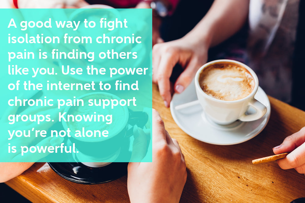 Chronic pain can be isolating