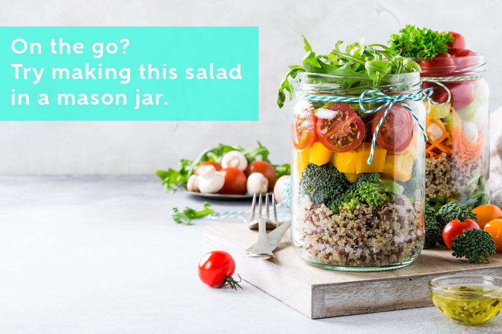 Healthy Salad You can Enjoy on the Go
