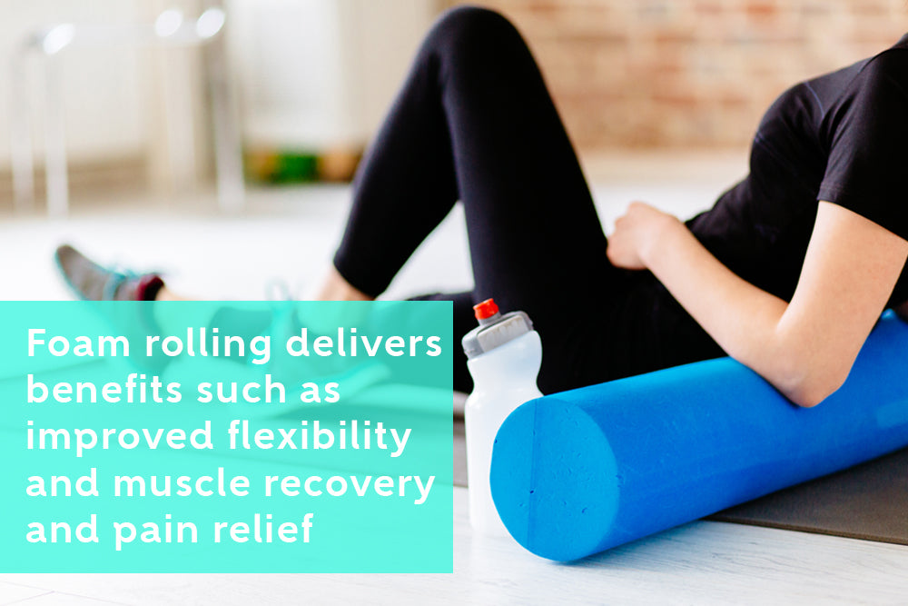 Way to Use a Foam Roller to Relieve Pain