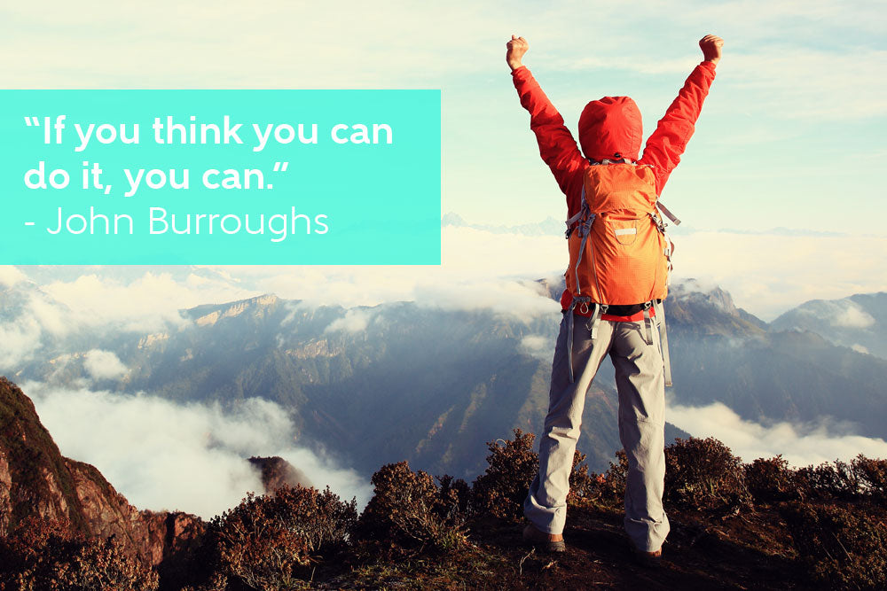 If you think you can do it, you can - Inspirational Quote by John Burroughs