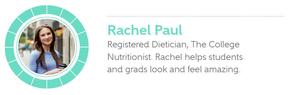 Rachel Paul, Registered Dietician, The College Nutritionist