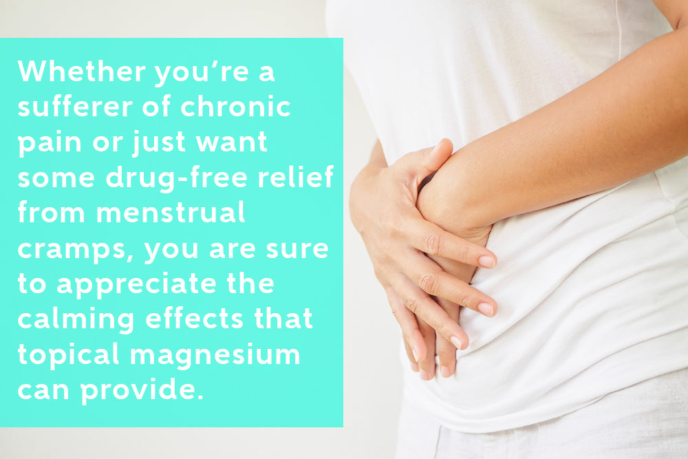 Magnesium Helps Relieve Menstrual Cramps