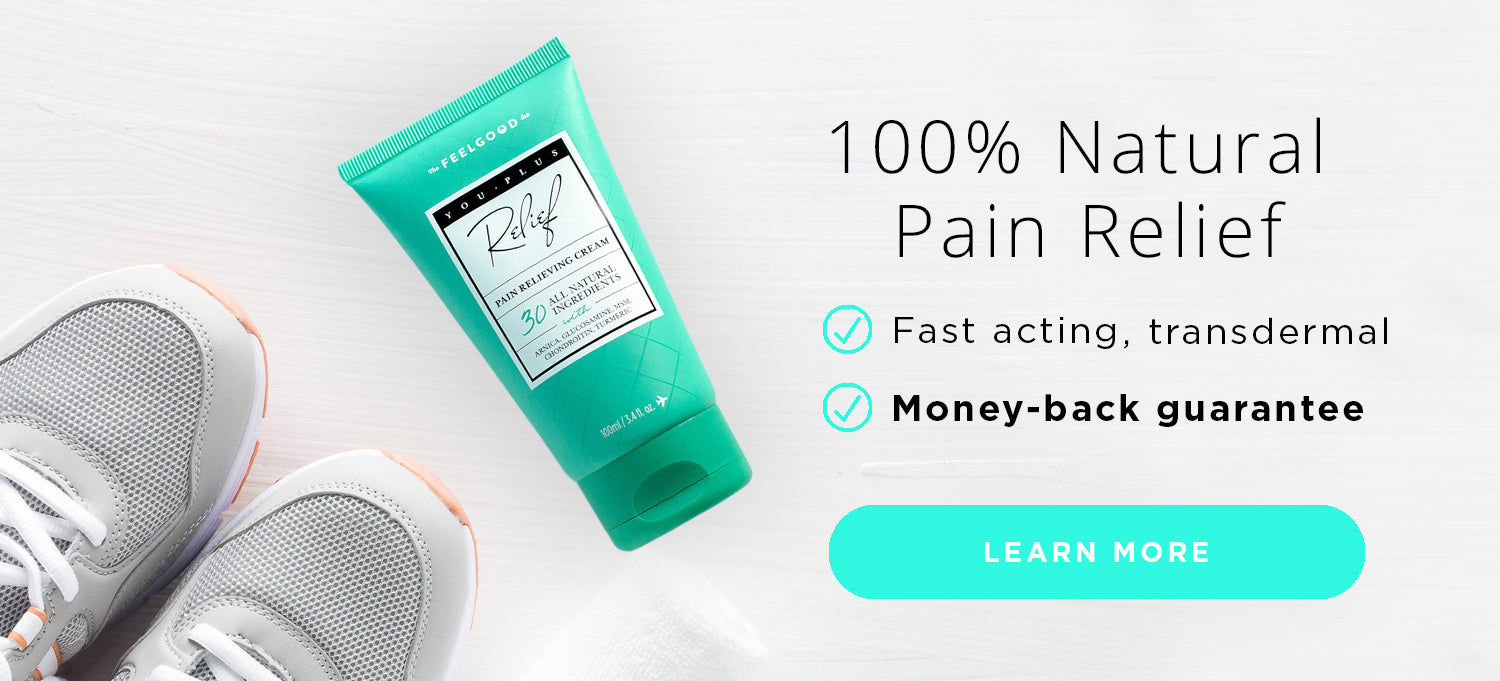 100 Percent Natural Transdermal Pain Relief Cream