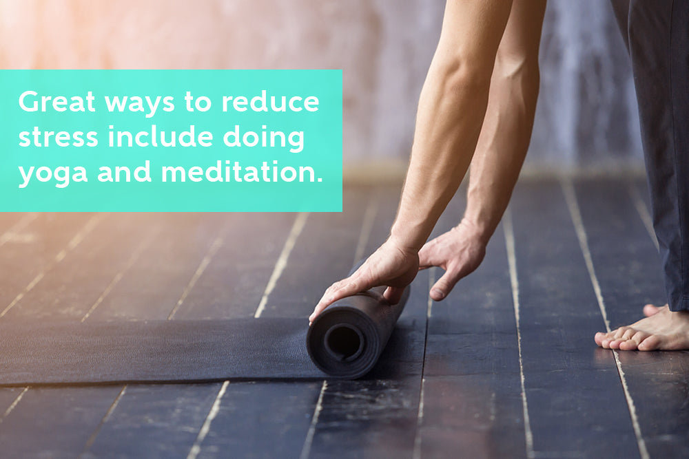 Yoga and Meditation to Overcome Stress and Inflammation