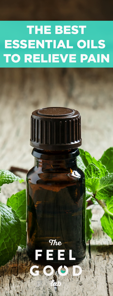 Essential Oils For Pain Relief That Actually Work