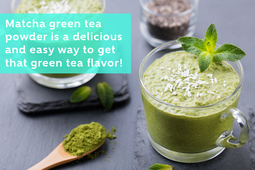 Try Anti-Inflammatory Matcha Green Tea Smoothie Instead of Regular Tea Cup