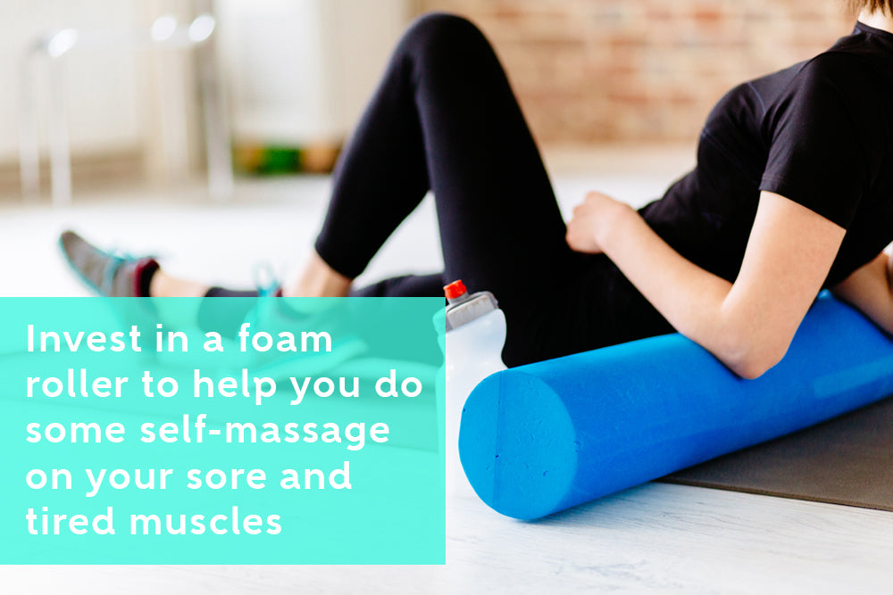 Get Relief From Chronic Pain With Foam Roller Self-Massage
