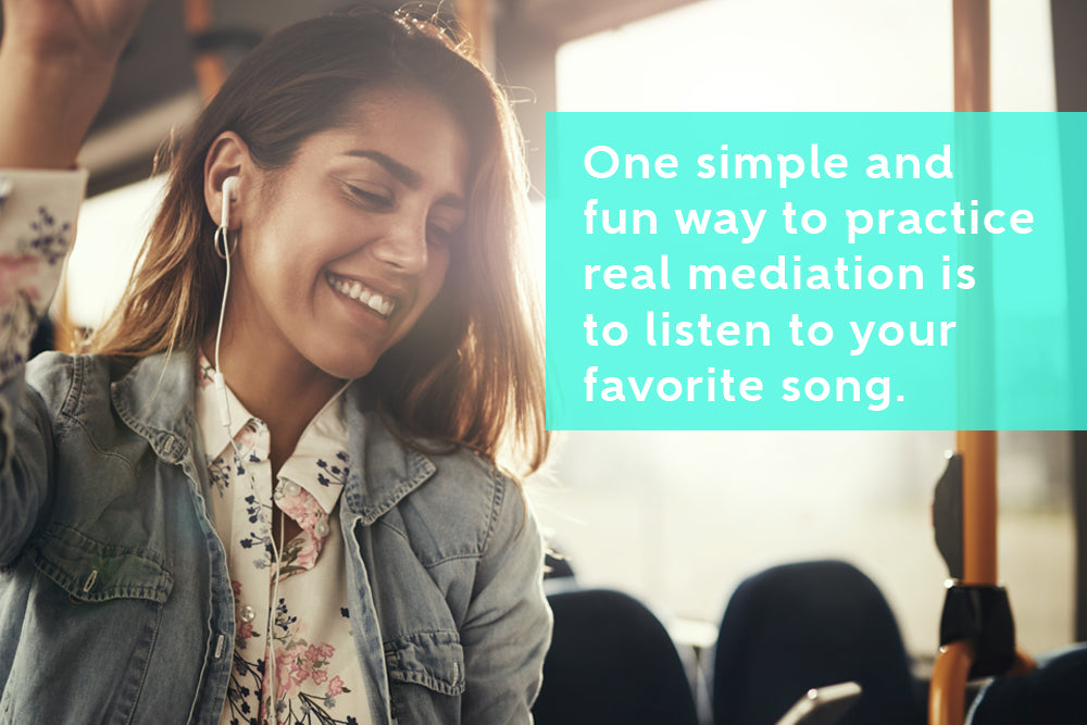 Listening To Music Is Also A Form Of Meditation