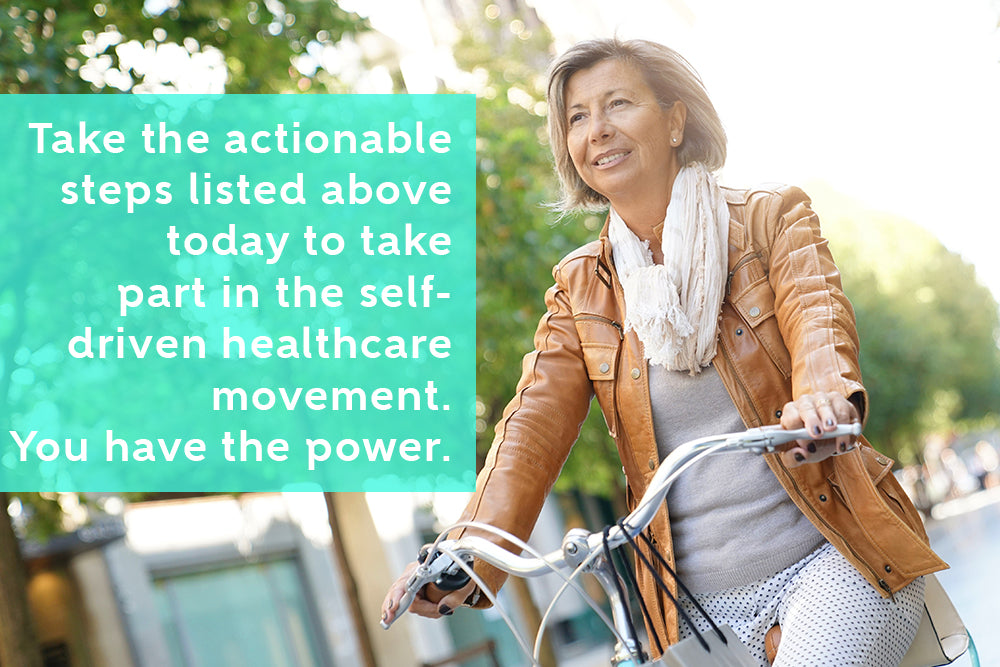 Become part of the self-driven healthcare movement