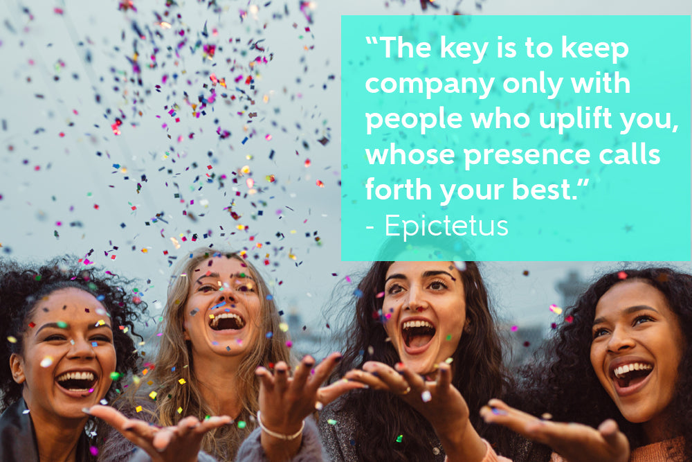 The key is to keep company only with people who uplift you, whose presence calls forth your best - By Epictetus