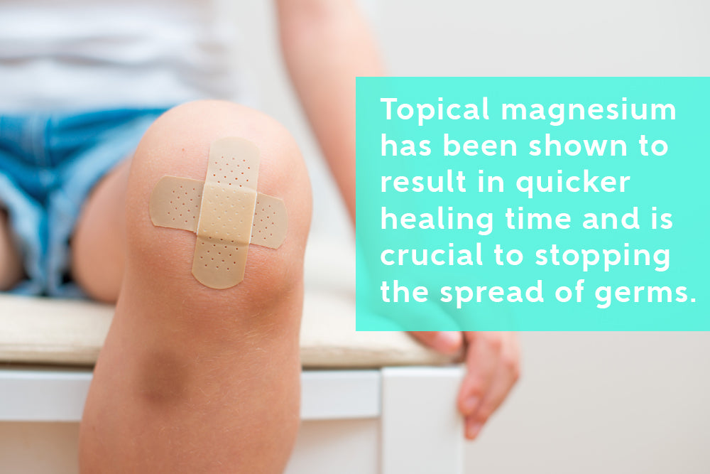 Topical Magnesium For Quicker Healing Time