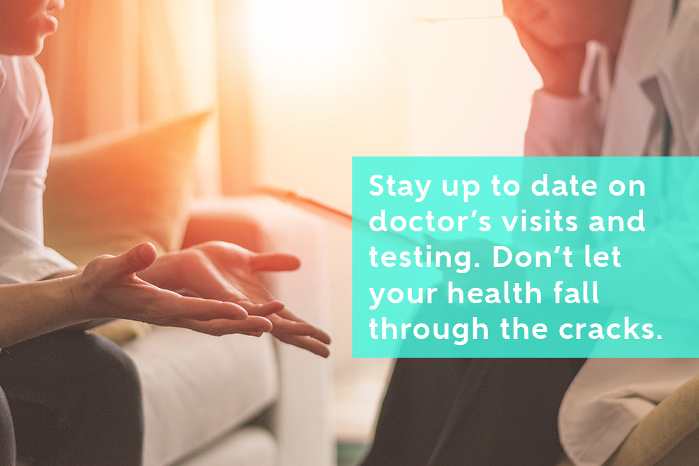 Seek expert advice, don't let your health fall