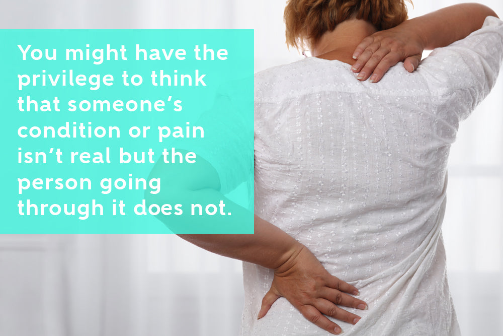 Try To Understand Suffering Instead Of Questioning The Person With Chronic Pain