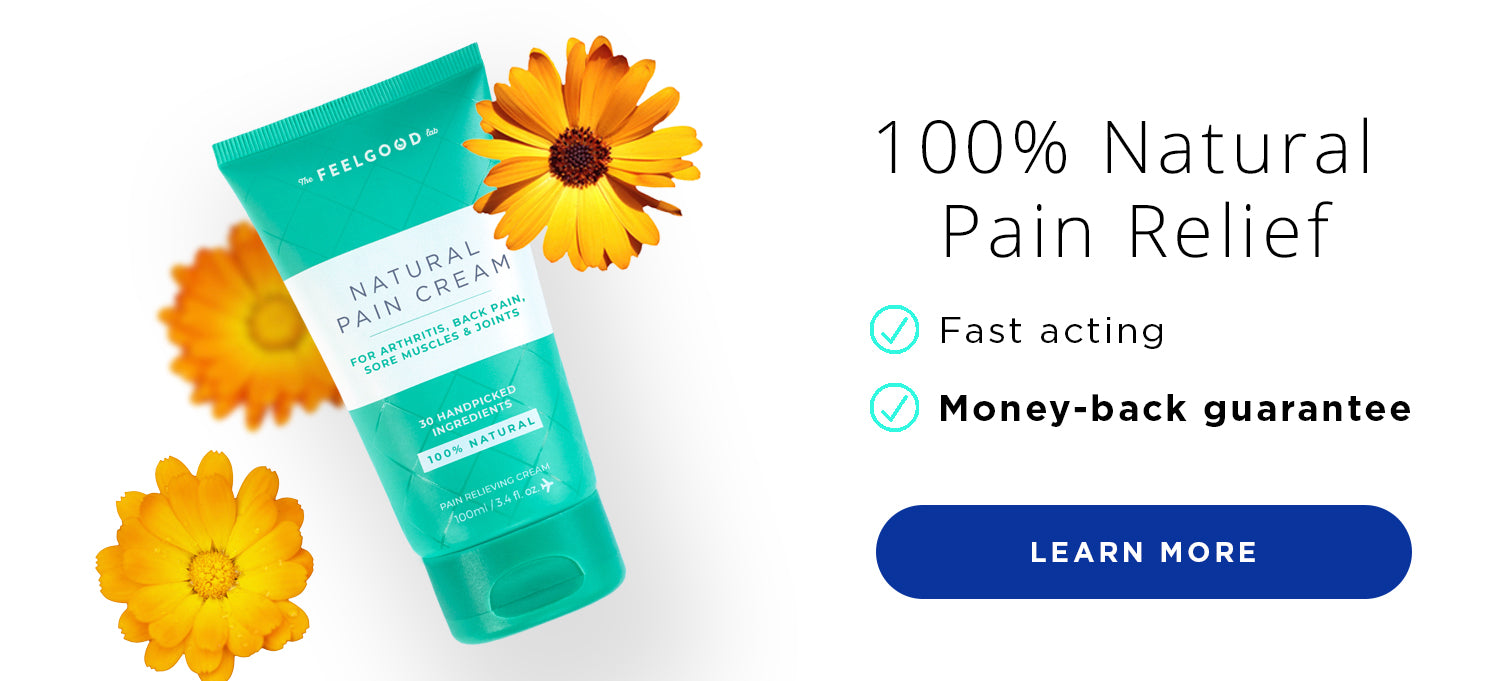 All natural quick pain relief cream