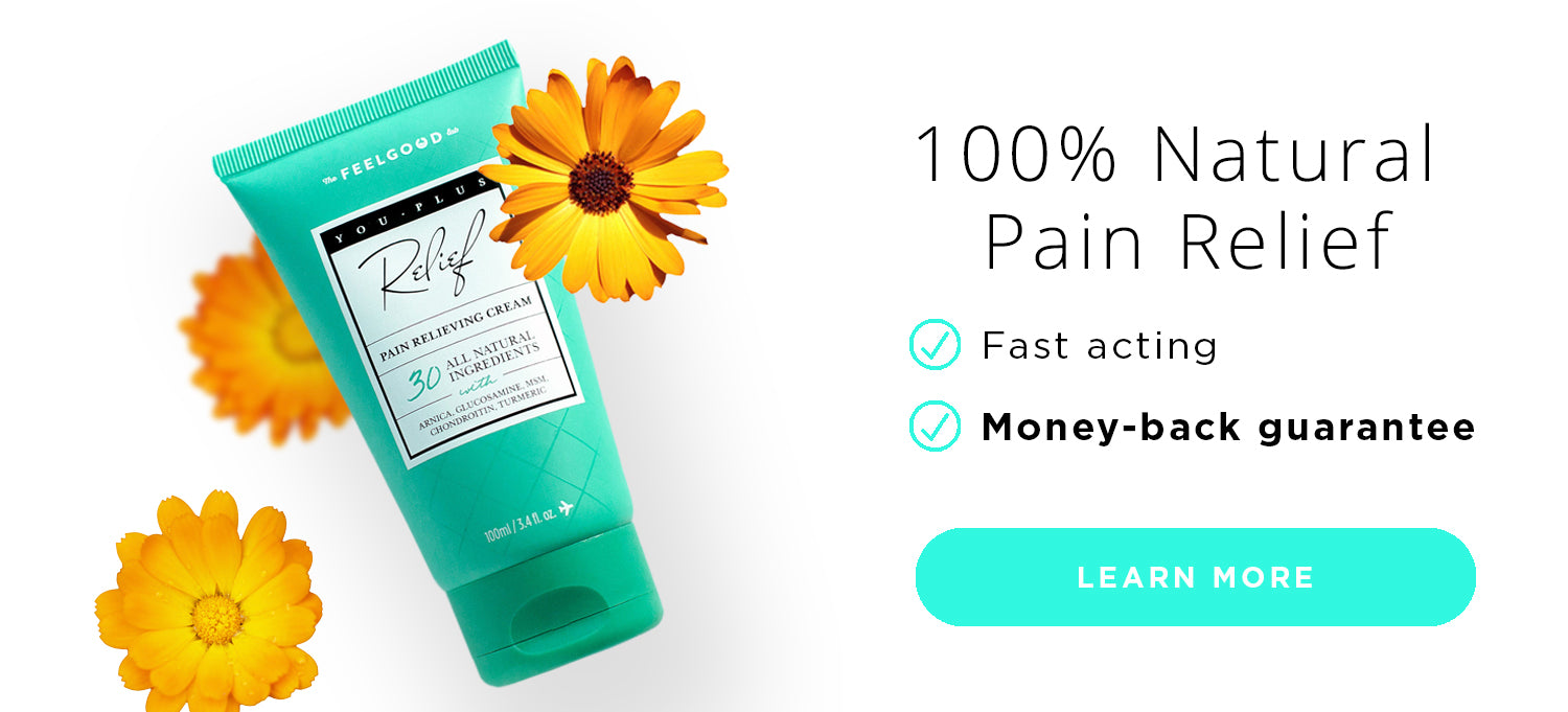 You Plus Pain Relief Cream with All Natural Ingredients