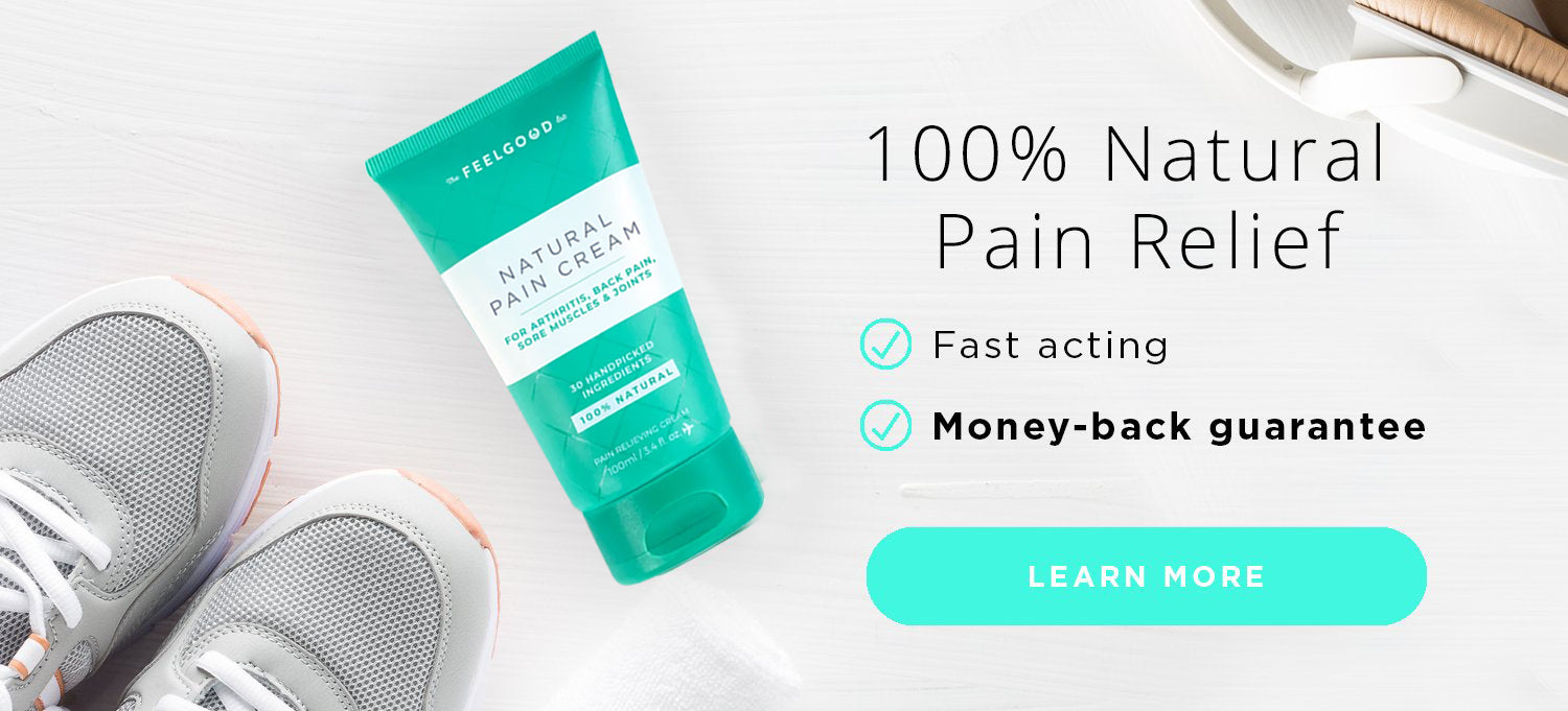 Fast Acting Pain Relieving Cream with All Natural Ingredients