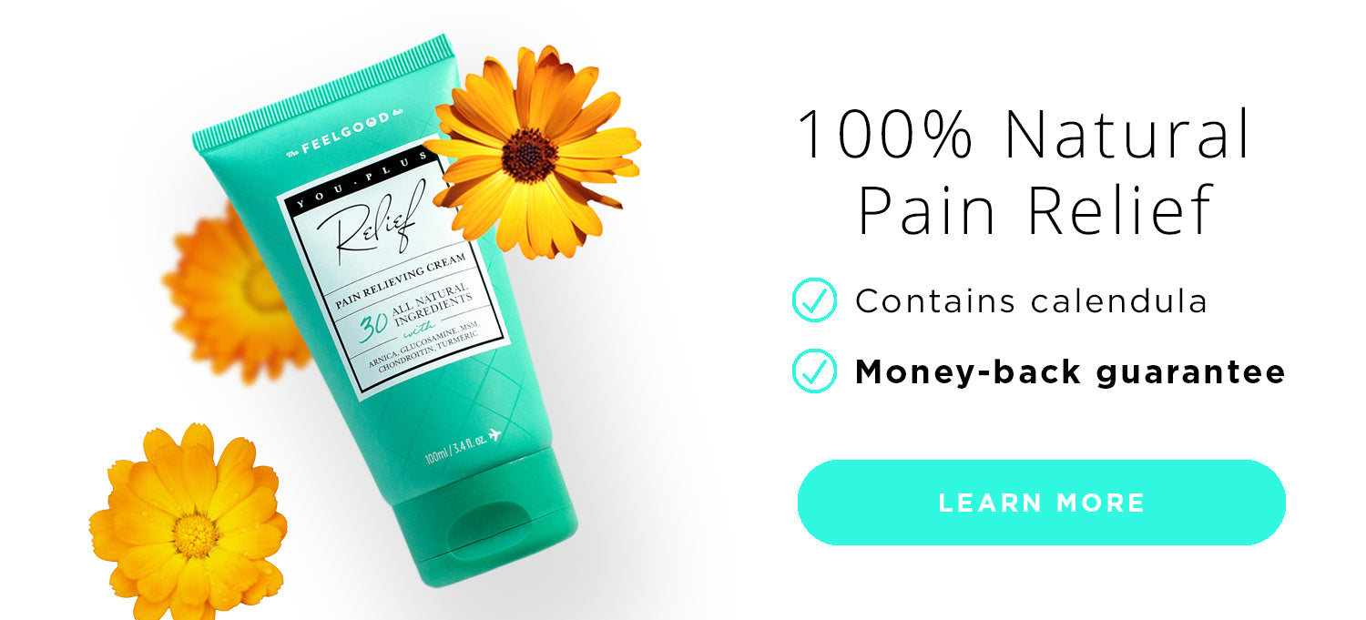 You Plus 100% Natural Pain Relieving Cream