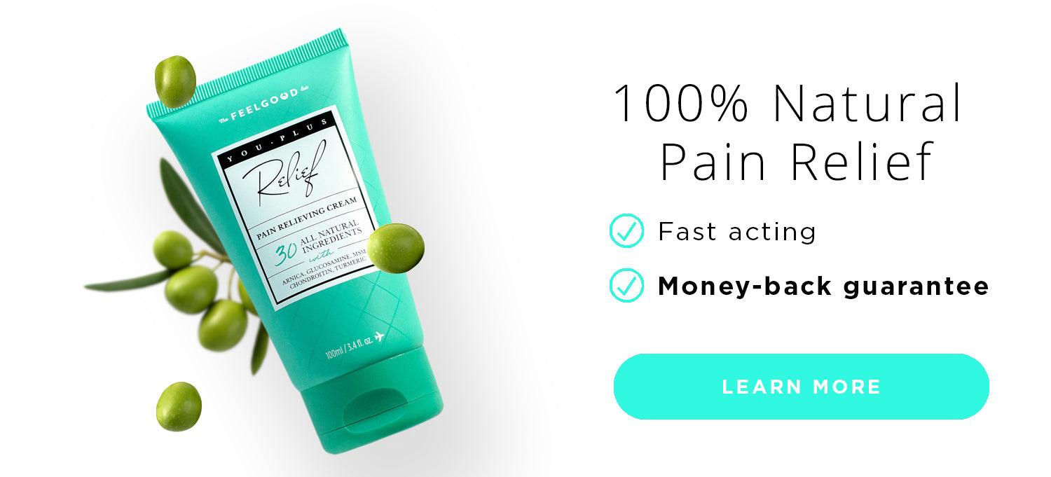 You Plus 100% Natural Pain Relief Cream