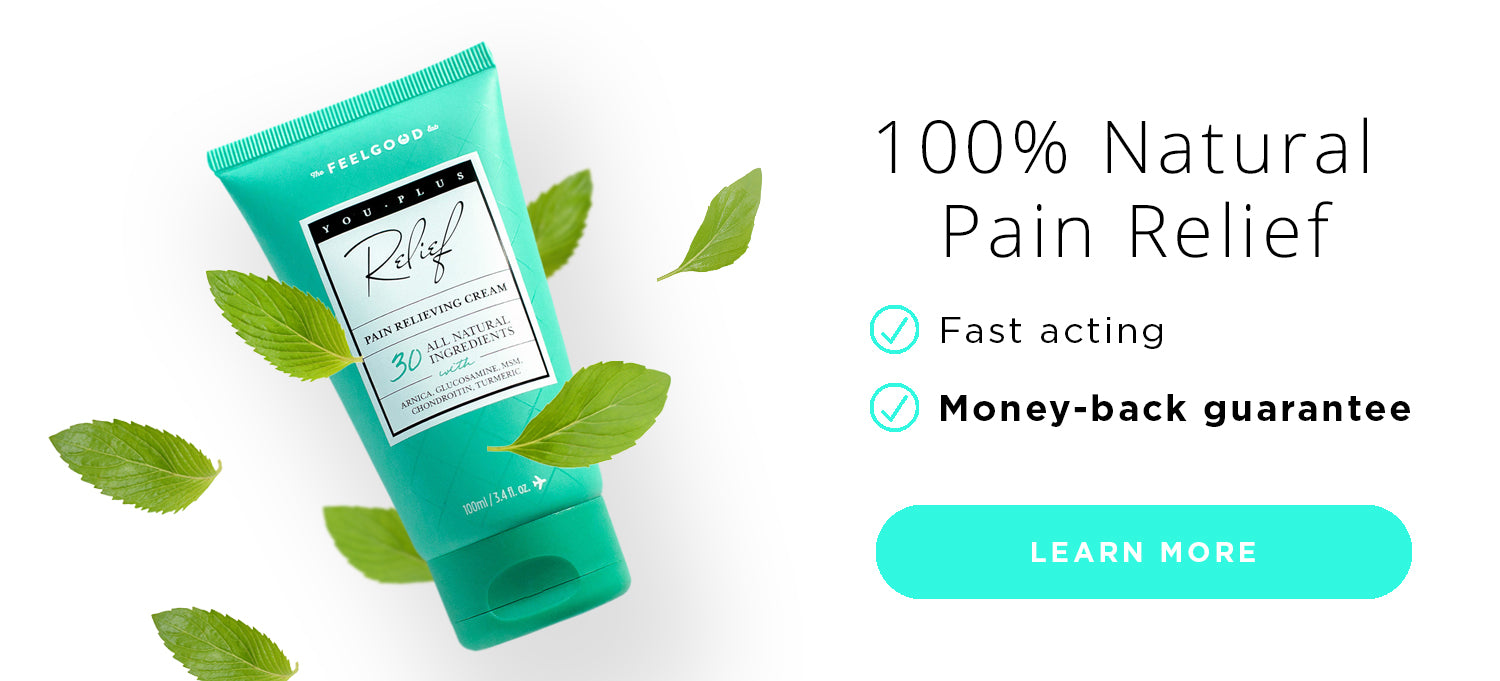 You Plus Pain Relieving Cream with All Natural Ingredients