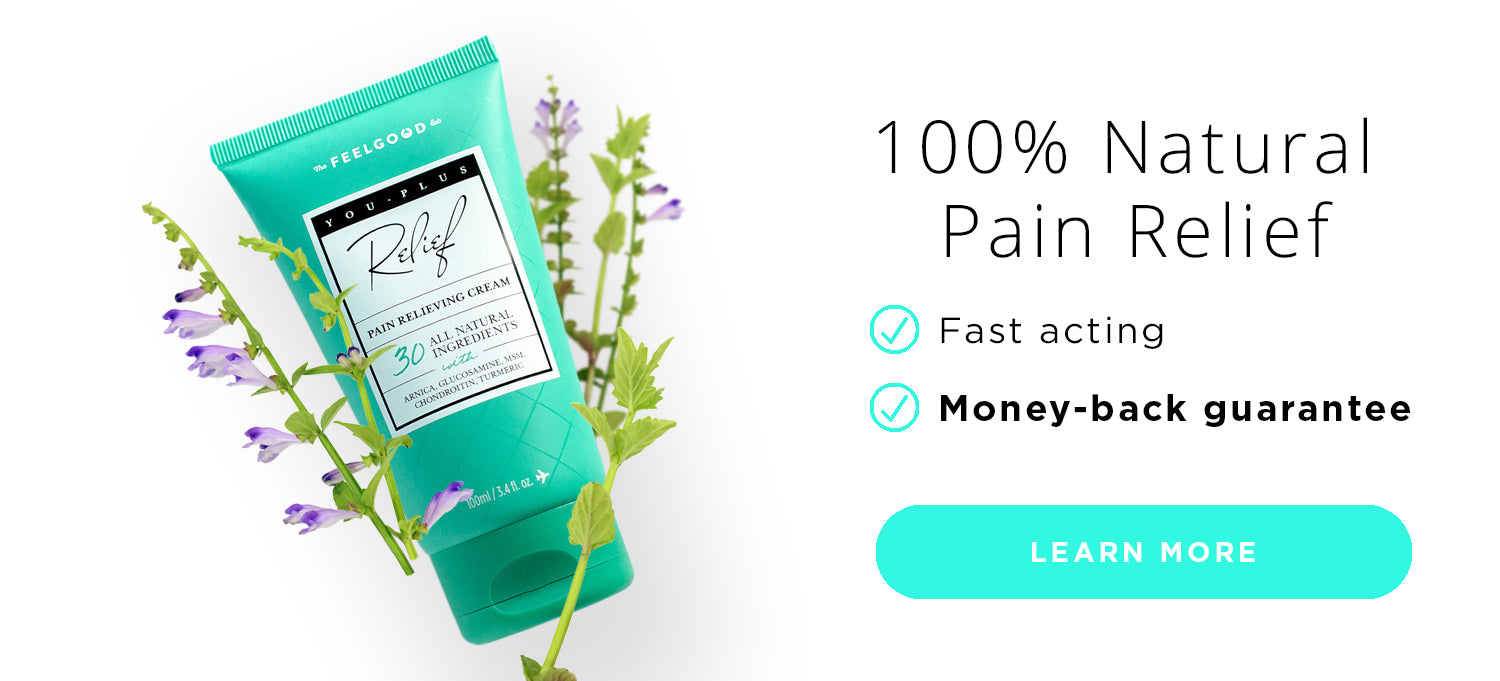 100% natural fast acting pain relieving cream