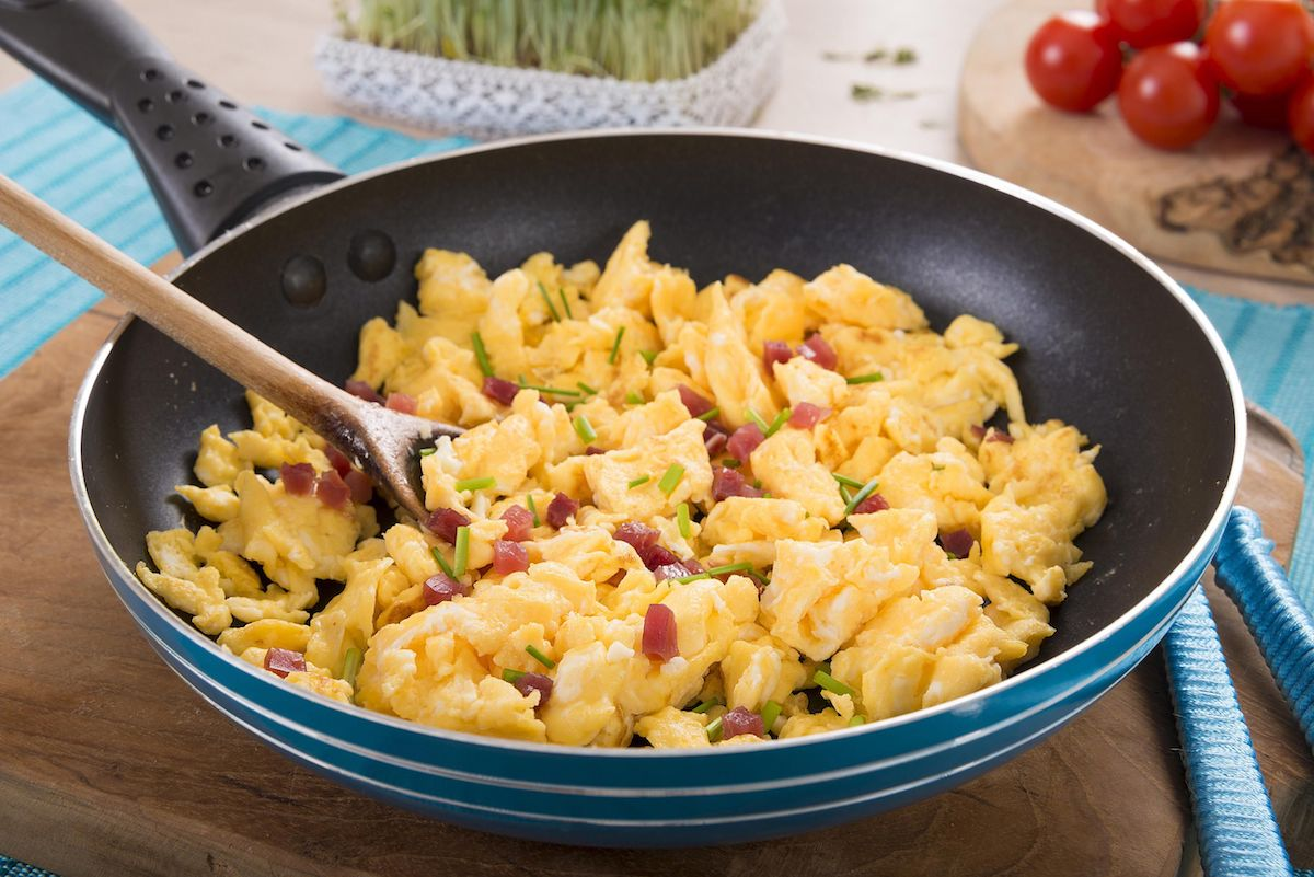 Egg Scramble Recipe for Ketogenic Diet