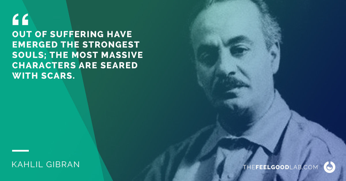 Kahlil Gibran Quote on Pain