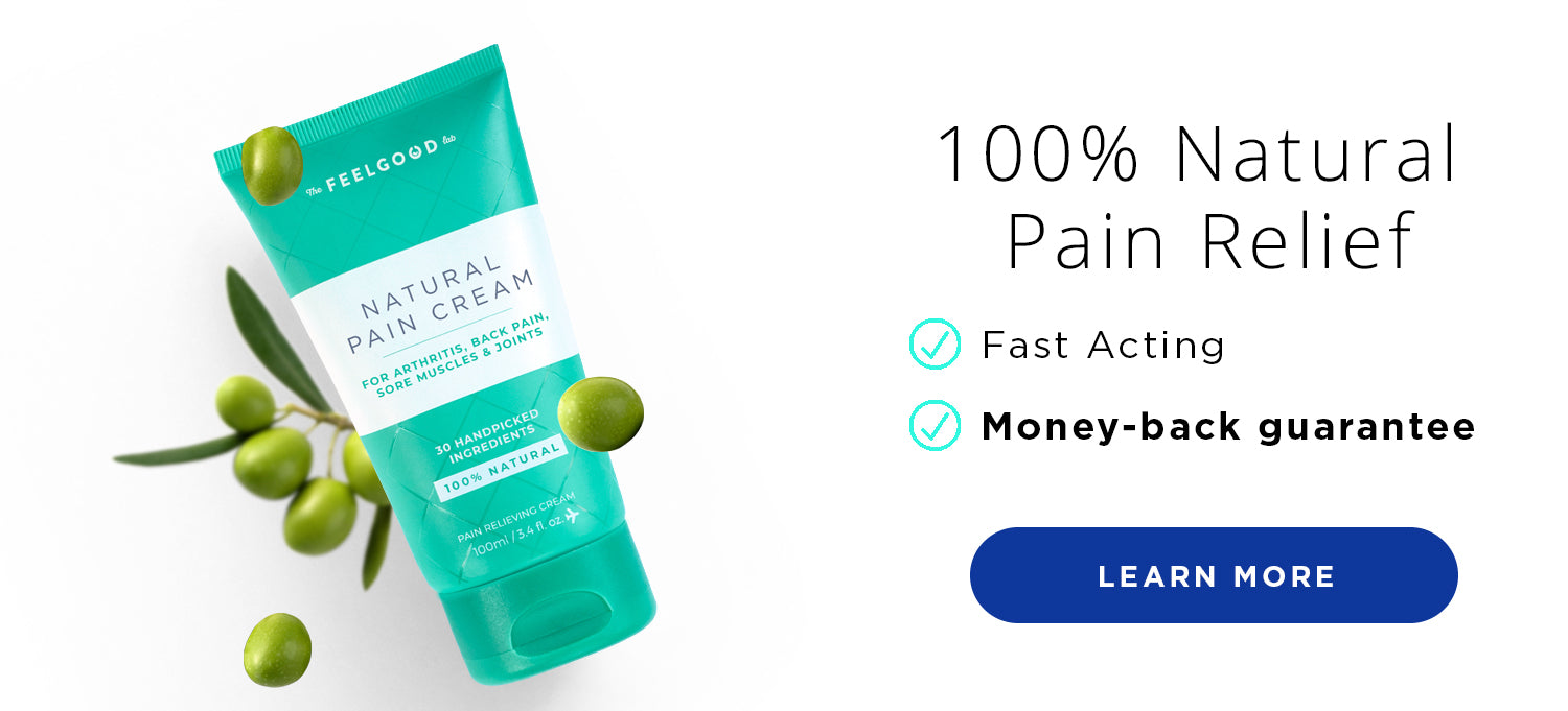 100% Natural Pain Relief Cream