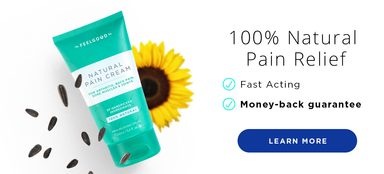 Fast Acting Pain Relief Cream with 30 All Natural Ingredients