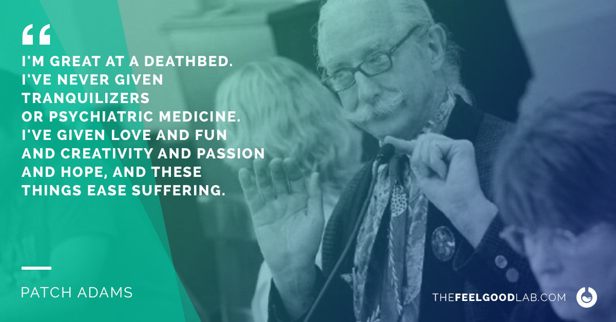 Patch Adams Quote on Pain