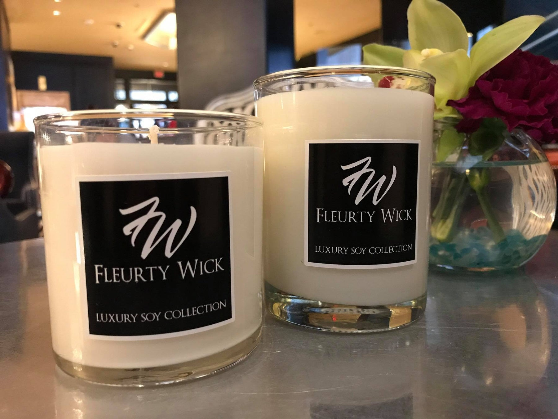 Fleurty Wick Boutique Candle Co