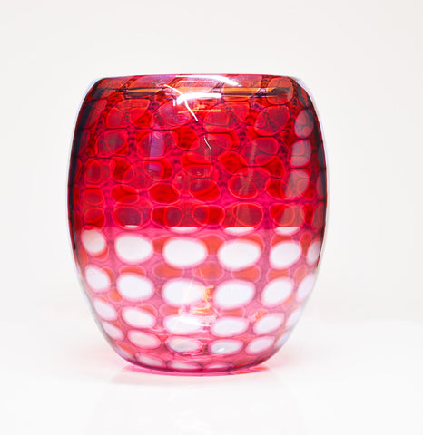 Red Hand Blown Glass - New Orleans Glass Works