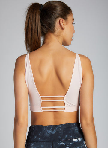 OPEN BACK SPORTS BRALETTE