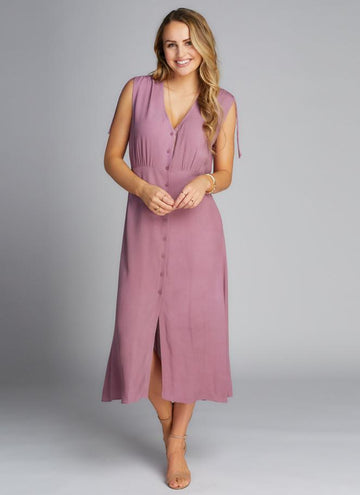 S/Less Button Down Dress