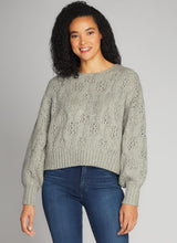 Crop Crew Neck Sweater