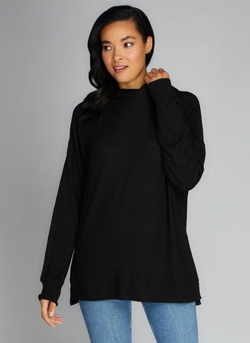 Rayon Soft Knit Oversized Pull Over