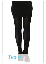 Ruched Centre Stripe Tights