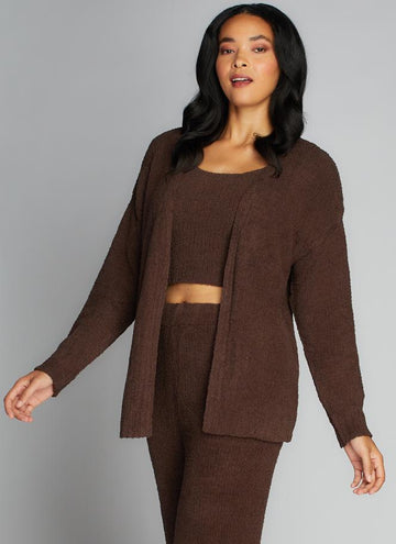 Open Cardigan Lounge Wear