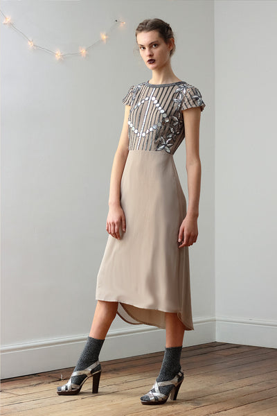 BEA MIRROR TEA DRESS