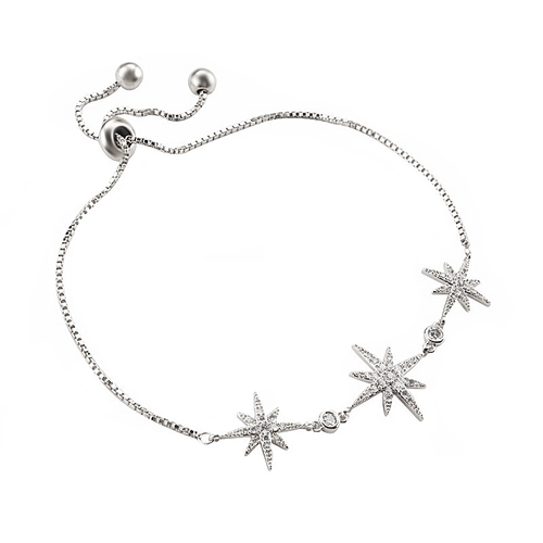 Starburst Adjustable Bracelet